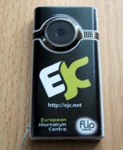 A Flip camera.